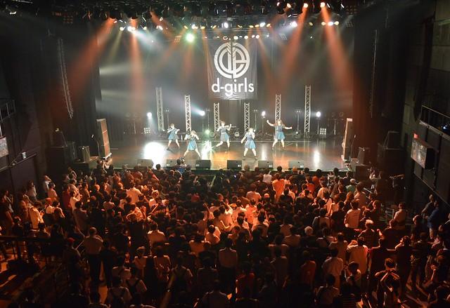 Cubaseによるパラ出しで赤坂BLITZのライブを演出。アイドルグループd-girlsのリミックスコンテスト結果はCDで発表に!