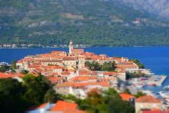 Panorama of Korčula town (Hrvatska 2018)