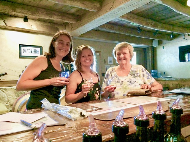 6 Mile Cellars wine tasting