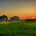 Sunrise at the Barn and Crib
