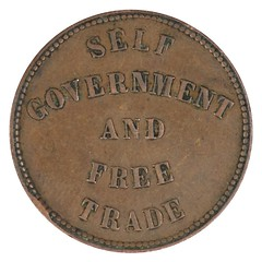 1857 Prince Edward Island Self Government Halfpenny obverse