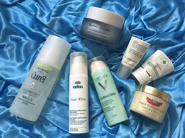 Empties Moisturizer Curel Vichy Face Shop