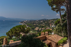 View over Saint-Maxime