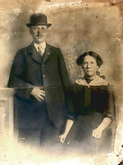 Robert and Frances Page, 1920s
