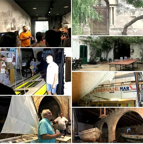Visita de la Confraria a la Destil.leria, 24 d'agost