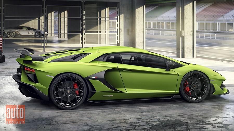 Lamborghini Aventador SVJ 8