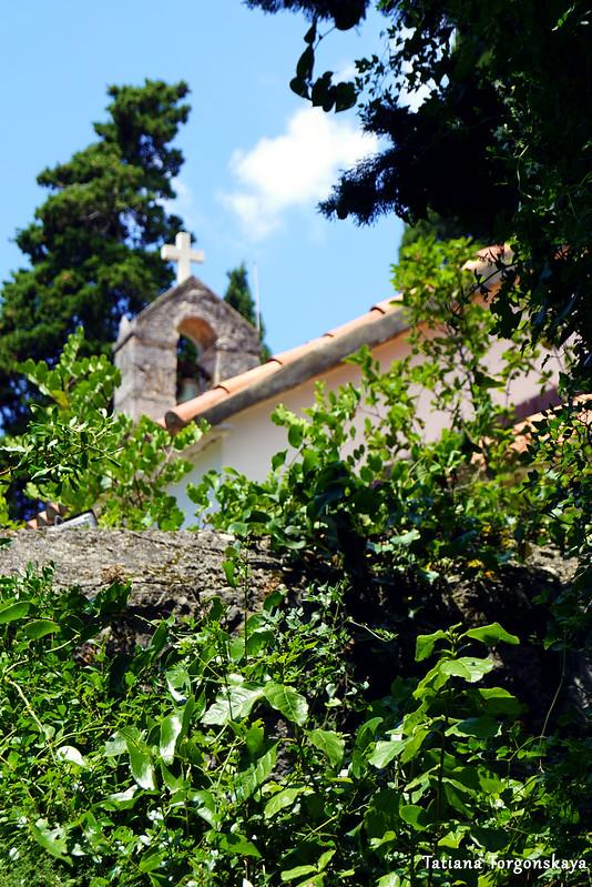 Вид на церковь Св. Троицы
