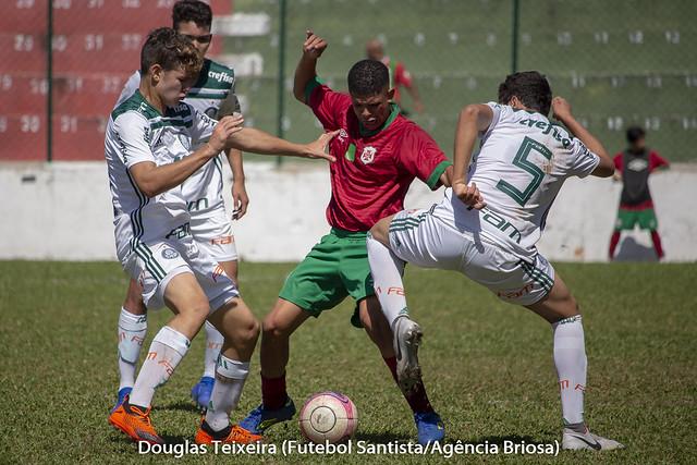 Portuguesa Santista 1 x 3 Palmeiras (Sub-15)