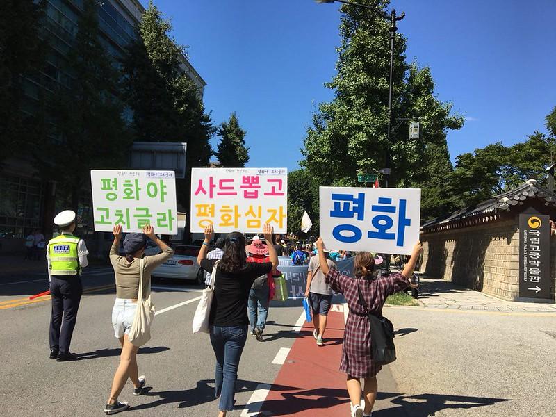 9.8 사드 추가 배치 1년, 철회 촉구 평화행동_출처_소성리 종합 상황실 (3)