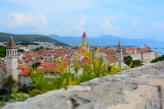 Trogir rooftop panorama (Hrvatska 2018)