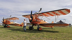 Boeing PT-17/R985 Kaydet (A75N1) / The Flying Circus