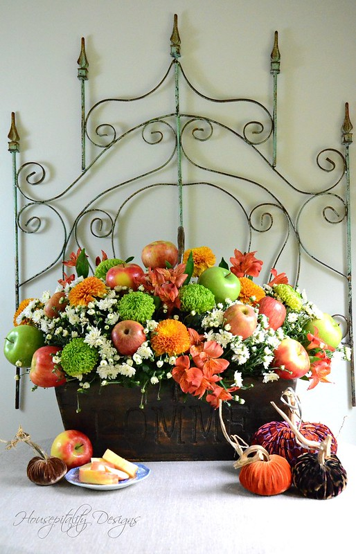 Fall Apple Centerpiece-Housepitality Designs-5
