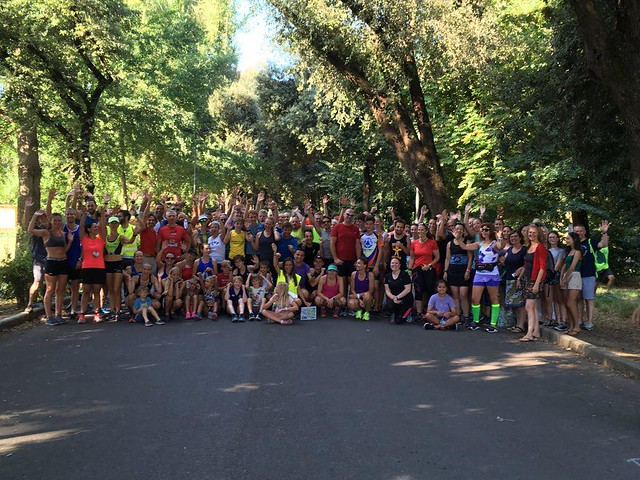 Firenze parkrun n. 46 - 11 Agosto 2018