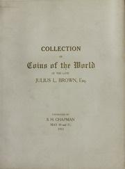 Julius L. Brown catalog cover