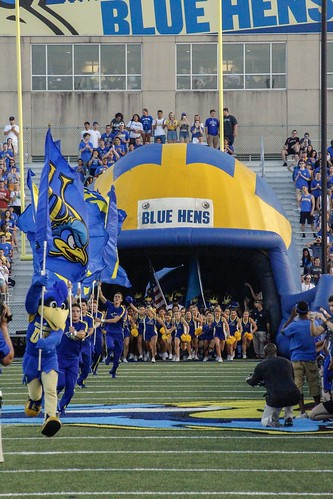 Delaware gears up to take on the Towson Tigers