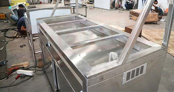foto produksi bain marie stainless steel