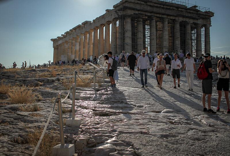 Historia de la Acropolis