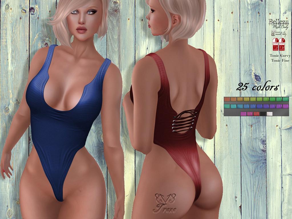 TREZE Cora Bodysuit - TeleportHub.com Live!
