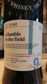SMWS 13.60 - A fumble in the field