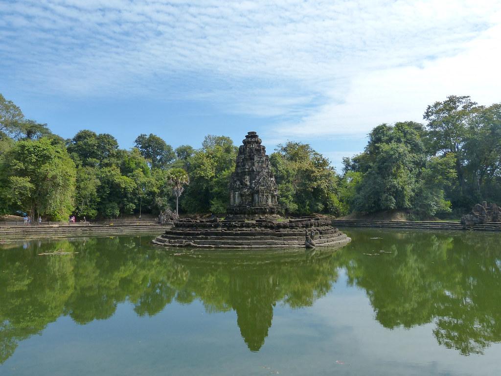 2018 Südostasien - Kambodscha - Angkor - Neak Pean