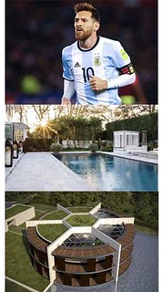 Messi's swimming pool