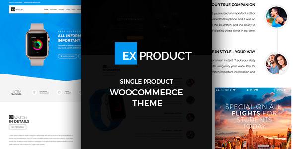 ExProduct v1.0.9 – Single Product theme