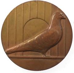Pigeon Award Medal obverse