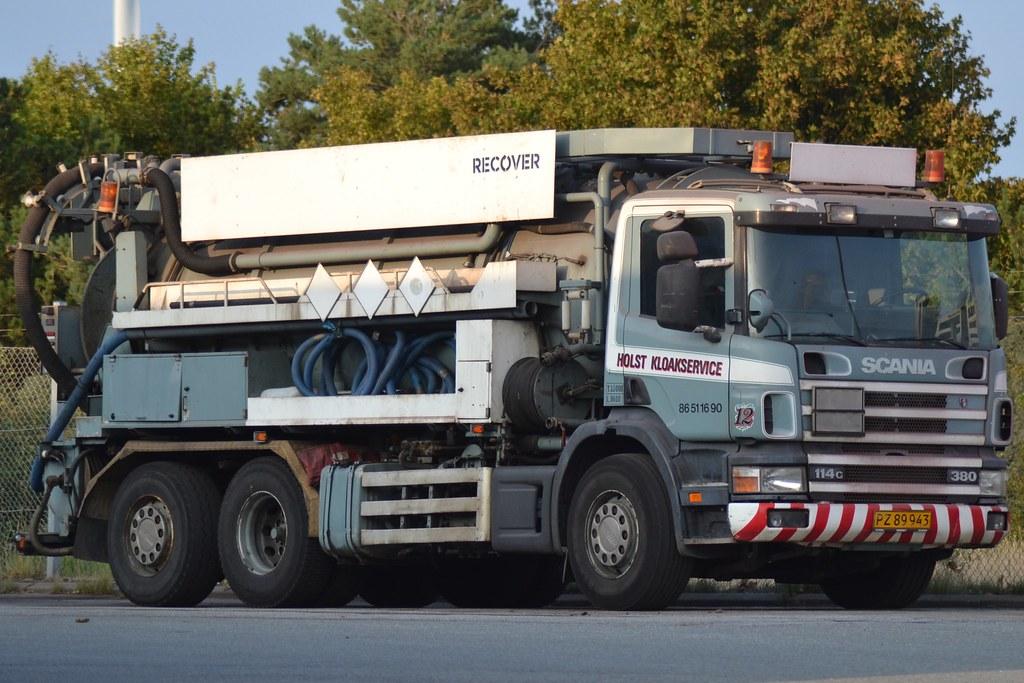 Scania 114g 380 Holst Kloakservice 12 Pz 89 943 Flickr