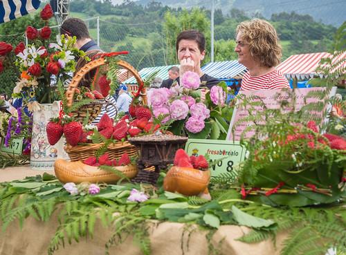 Festival de la Fresa 2014, Candamo, Asturias