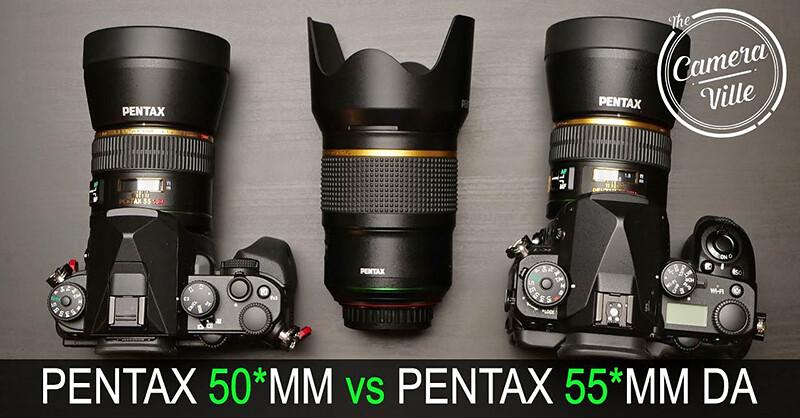 HD PENTAX-D FA★ 50mm F1.4 SDM AW vs smc PENTAX-DA★ 55mm F1.4 SDM (with PENTAX KP)