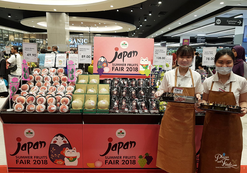 aeon tebrau city japan summer fruits fair