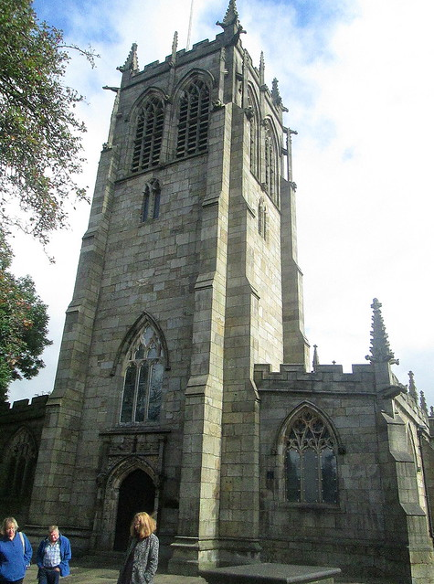 St Chad's Parish Church, Rochdale, Tower