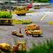 Legoland Billund 2018 - Miniland - Airport Workers