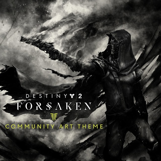 Destiny 2: Forsaken PS4 Theme