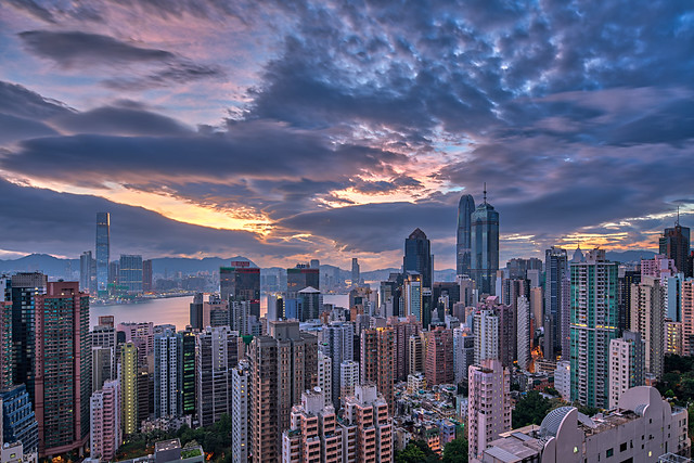 The Early Morning of Hong Kong