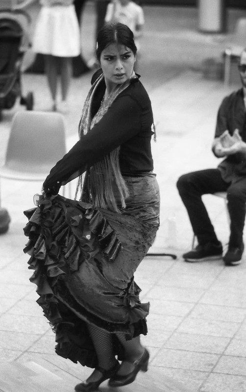 Villach flamenco dancer