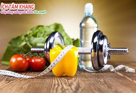 Duy trì lối sống lành mạnh là cách ngăn ngừa thiếu máu cơ tim