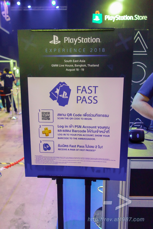 PlayStation Experience 2018 SEA - Fast Pass