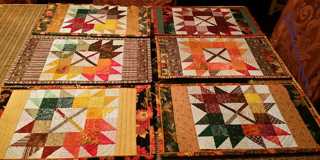 Set of 6 Autumn Jubilee placemats