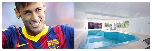 Neymar's swimming pool