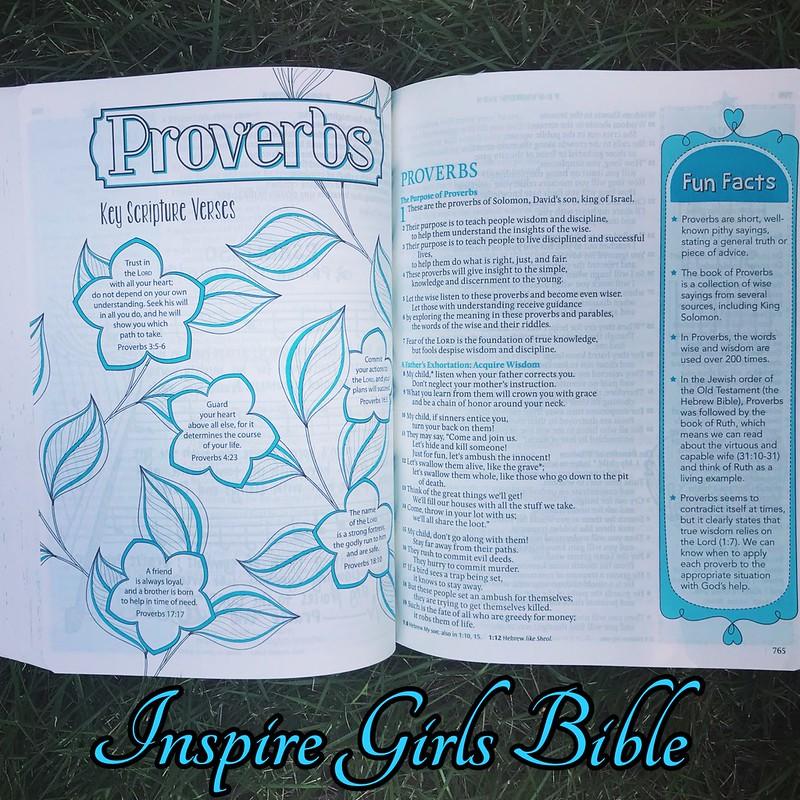 Inspire Girls Bible