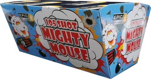 MIGHTY MOUSE 105 SHOT FAN BARRAGE