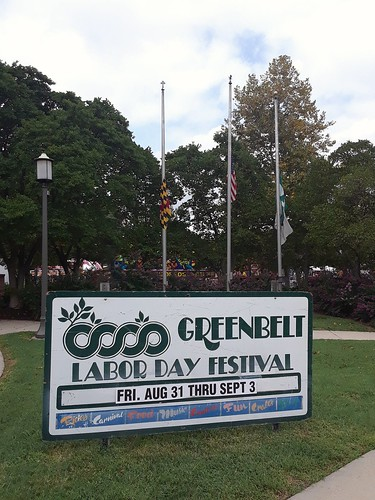 Greenbelt #LaborDay Festival in Greenbelt, Maryland, September 1, 2018.