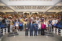04/09/2018 - Jornada de bienvenida a estudiantes internacionales en el campus de Bilbao