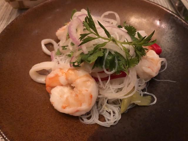 Menu - L'orangerie - St Regis Langkawi (Seafood Salad)