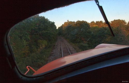 Evening as seen from the fireman's perspective