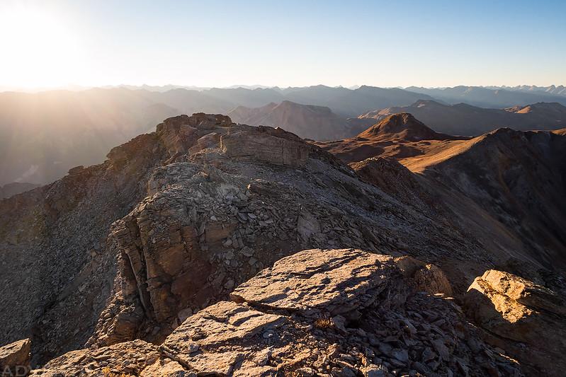 Telluride Peak Ridge