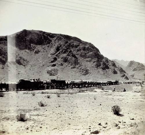 India Railways - Constructing the railway line to Landi Kotal