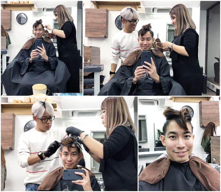 99 Percent Hair Studio Haji Lane