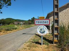 Touzac - Panneau du village - Photo of Sérignac